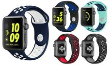 Sports Band for Apple Watch 42mm Replacement Apple Watch Perforated Wrist Strap