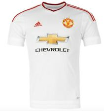 ADIDAS Manchester United Extérieur Away Maillot 2015 2016 CHEVROLET BLANC ROUGE