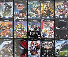 GAMECUBE GAMES (WII COMPATIBLE) UK PAL
