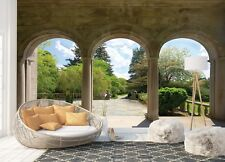 Wall Mural Photo Wallpaper Picture EASY-INSTALL Fleece Garden Through Arches 138