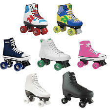 Roces CLASSIC Pattini a Rotelle rollbahnschuhe CLASSICROLLER 4 Rollen NUOVO