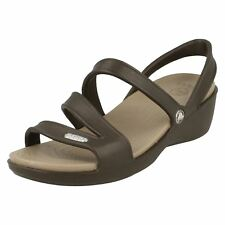 Ladies Crocs Casual Strappy Sandal Patricia Wedge Sandal W