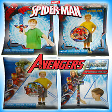 INFLATABLE TOYS SPIDER-MAN & AVENGERS SWORD SHIELD WAR HAMMER MALLET