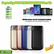 10000mAh LCD Display External Battery Charger con LED Light Mobile Power Bank
