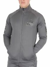 Kings Will Dream Uomo Ganado Digi Camo Track Jacket, Grigio