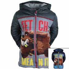 The Secret Life of Pets  COAT WINTER PUFFER COAT NEW  2 to 8 years