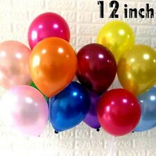 "12"" Latex 10 PK Pearlised Balloon Helium Quality Wedding Birthday Party decor"