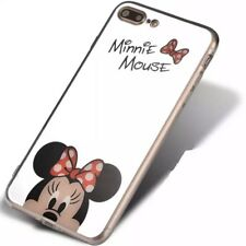 Disney Minnie Mouse Cartoon Mirror iPhone 6 6s Plus 7 8 + X  5 5s 5se Case Cover