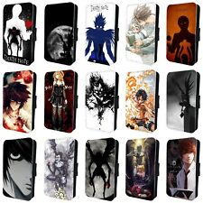 DEATH NOTE ANIME MANGA FLIP PHONE CASE COVER for SAMSUNG GALAXY S5 S6 S7 S8 S9