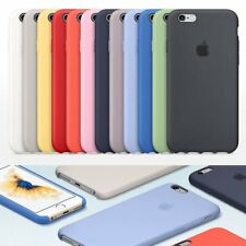 Apple IPhone 6 6S 7 Plus case,Genuine Original Silicone Case Cover Lot F9