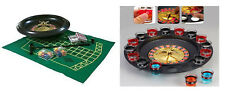 """ROULETTE SET 6""""/10""""/16""""/DRINKING GAME COMPLETE PARTY INCLUDES CHIPS BALLS SET"""