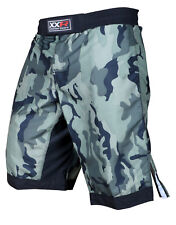 XXR Camo MMA Fight Shorts Camouflage Pro MMA Shorts UFC Cage Fight Grappling