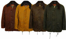 Mens Hunting Riding Wax Waterproof Padded Windproof Coat Jacket  New Cotton