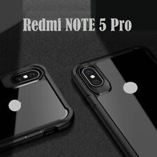 New iPaky Hard Transparent Back+Soft Frame Cover Case For MI REDMI NOTE 5 PR0