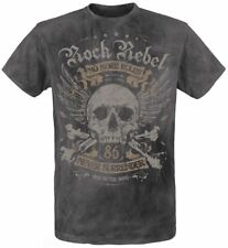 Rock Rebel by EMP Rebel Soul T-Shirt carbone