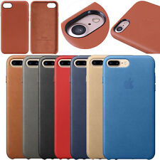 Funda Carcasa de Cuero para iPhone 7 8 7 Plus 8 Plus Original