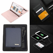 2 in 1 ZHUSE Wallet Power Bank 4000mAh & Card Package for Samsung iPhone