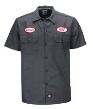 Chemise Dickies SOUS LICENCE Rotonda South charcoal grey (S/2XL) homme