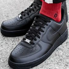 NIKE AIR FORCE 1 '07 315122-001 chaussures hommes sport noir sneakers baskets