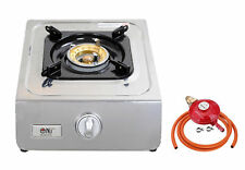 NJ NGB-100 Gas Stove Single Burner Portable Camping Outdoor Cooktop 3.8kW WOK