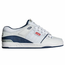 Globe Fusion Skate Shoes Trainers White Blue
