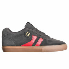 Globe Encore-2 Skate Shoes Trainers Charcoal Gum Red