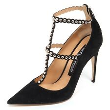 E4746 decollete donna SERGIO ROSSI scarpe borchie suede shoe woman