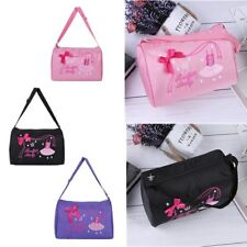 Ballerina Tote Dance Bag Kids Girl Embroidered Lace Ballet Hand Bag Shoulder Bag