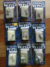 Doctor Who DW 110, 111, 113, 116, 132, 133, 142, 208, 223 (Harlequin Miniatures)