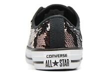 Mujer Converse Chuck Taylor All Star Sequins Ox Deportivas Marrón