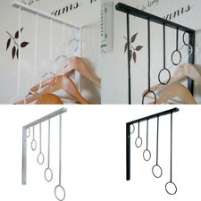 Iron 5 Rings Hanger Clothes Display Rack Towel Hanger Wall Mounted