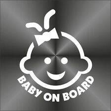 adesivo prespaziato BIMBO A BORDO BABY ON BOARD pre-spaced sticker