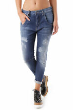 GR 69043 Blu jeans donna sexy woman sexy woman donna jeans con effetto sbiadito