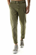 GR 74262 Fango pantaloni uomo absolut joy ;  pantalone made in italy: tasche chi
