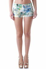 GR 64804 Multicolore shorts donna sexy woman ;  sexy woman donna shorts con zip