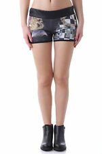 GR 64820 Nero shorts donna sexy woman ;  sexy woman donna shorts senza zip<br />