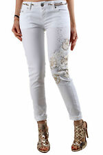 GR 84664 Bianco jeans donna sexy woman ;  sexy woman donna jeans made in italy: