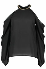 GR 72702 Nero t-shirt donna guess marciano ;  guess marciano donna t-shirt con m