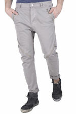 GR 85035 Grigio pantaloni uomo absolut joy absolut joy uomo pantaloni made in it