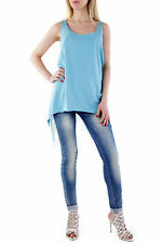 GR 73314 Turchese top donna sexy woman ;  sexy woman donna top made in italy: se