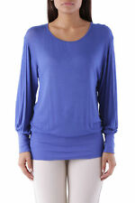 GR 83103 Blu maglia donna sexy woman ;  sexy woman donna maglie made in italy: i