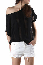GR 85754 Nero maglia donna sexy woman sexy woman donna maglie made in italy: man