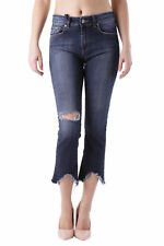 GR 83616 Blu jeans donna sexy woman sexy woman donna jeans pinocchietto made in
