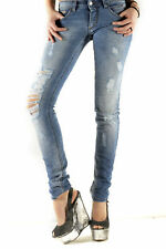GR 71810 Blu jeans donna sexy woman sexy woman donna jeans tasche chiusura front