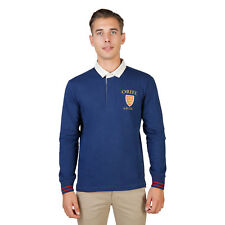 BD 74054 ORIEL-POLO-ML Blu Oxford University Polo Oxford University Uomo Blu 740