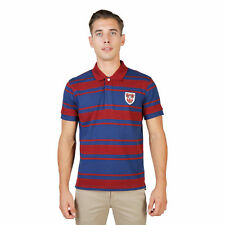BD 74053 QUEENS-RUGBY-MM Rosso Oxford University Polo Oxford University Uomo Ros