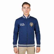 BD 74090 OXFORD-FLEECE-TEDDY Blu Oxford University Felpa Oxford University Uomo