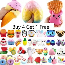Jumbo Slow Rising Squishes Scented Squishy Squeeze Toy Stress Reliever Gift UK