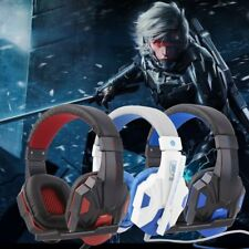 3.5mm Surround Stereo Gaming Headset Headband Headphone with Mic for PC vi