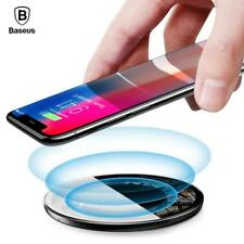 Baseus 10W Qi Wireless Charger Fast Wireless Charging For iPhone X 8 Quick Charg